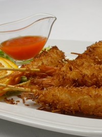 Coconut shrimp skewers 5 pieces 150g